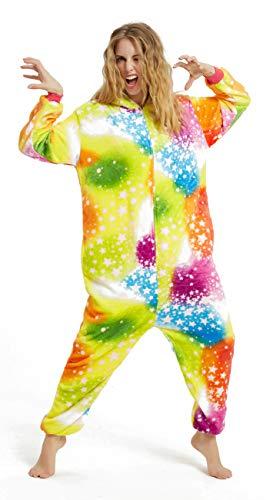 Kostüm Verkauf Für Von 9 7 - Tier Cosplay Kostüm Einhorn Cosplay Kostüm Onesie Pyjamas Erwachsene Halloween Cosplay Kostüm (Farbe Einhorn, XL(Höhe 178-195 cm))