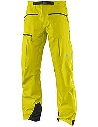 Salomon - S Lab X Alp Pro Pants, color amarillo, talla XL