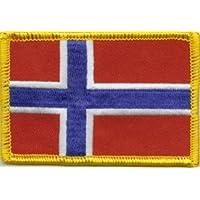 Yantec Flaggenpin 5er Pack Norwegen Pin Anstecknadel Fahnenpin