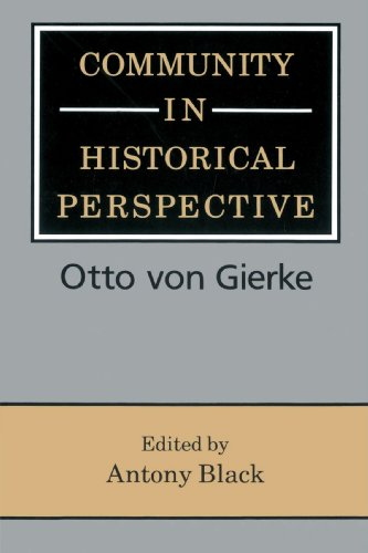 Community in Historical Perspective Paperback
