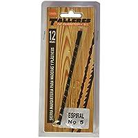 12/piezas Pebaro/ /Set de hojas sierra en tarjeta con Drill broca