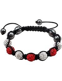 Bling bling Bracelet Shamballa - fait avec CZ glace Balls - Disponible en plusieurs couleurs.