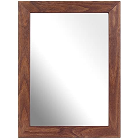 Inov8 A4 Kayla British marco de madera de espejo, de roble