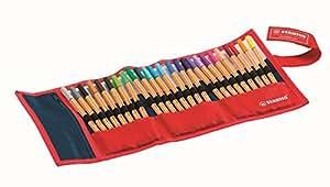 STABILO point 88 - Rollerset de 25 stylos-feutres pointe fine - Coloris assortis