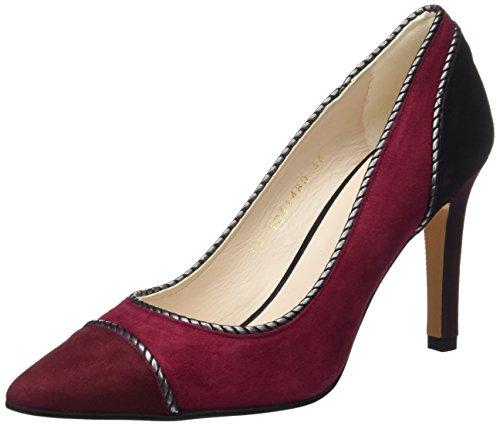 lodi Resin40, Pantofole a Stivaletto Donna Multicolore (Ante Wine-rubi-negro)