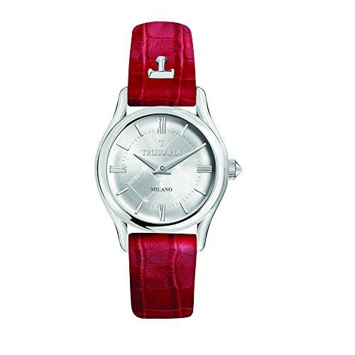 TRUSSARDI Reloj Analógico para Mujer de Cuarzo con Correa en Cuero R2451127502