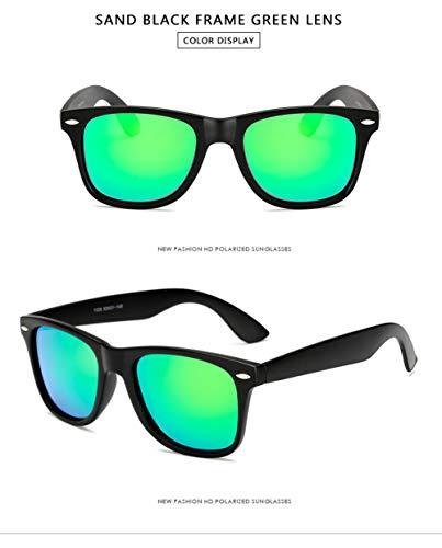 Sunglasseslifes Polarisierte Sport-Sonnenbrille für Ski Driving Golf Running Radfahren Superlight...