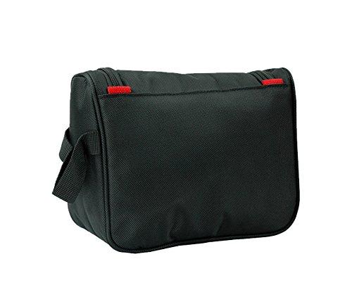 cosmetici borsa da viaggio impermeabile/ Borsa conveniente amenità/Borsa grande stoccaggio all'aperto-Nero Nero