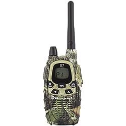 Midland G7 Pro Mimetic - Radio portátil, 8 canales, color camuflado