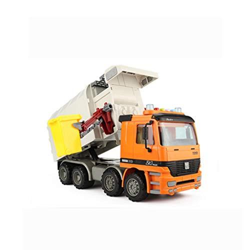 Yingjianjun Sanitärtechnik Fahrzeug Spielzeug Müllwagen Spielzeugmodell, Simulation Trägheit Fahrzeugfahrzeugmodell (Junge, 3 Jahre alt und älter)