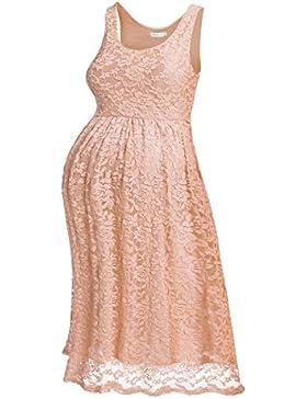 a414f5116277 hotouch Donna Vestito Premaman Maternity Vestito Jersey Abito Gravidanza vestito  abito in pizzo Tank Vestito Empire