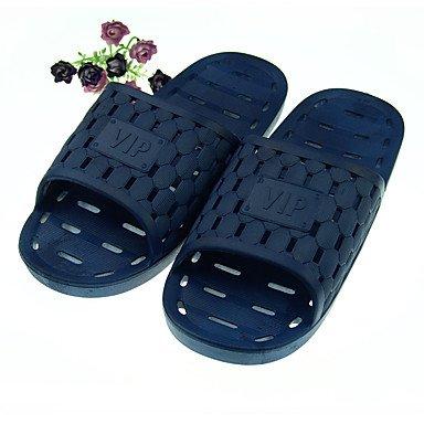 Slippers & amp da uomo;Estate Slingback gomma casuale Heel piatto blu scuro, blu scuro, US10.5 / UE sandali US10 / EU43 / UK9 / CN44