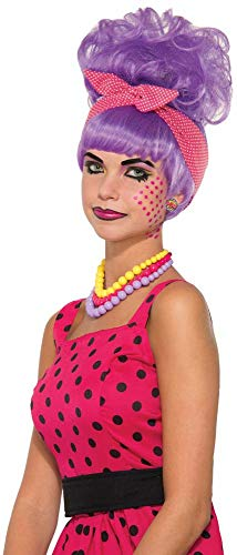 Forum Penny Pow Pop Art Wig One Size Fits Most