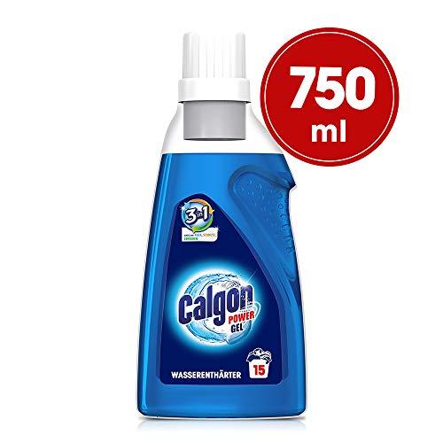 Calgon 3in1 Gel, Wasserenthärter gegen Kalk & Schmutz in der Waschmaschine, 1er Pack (1 x 750 ml)