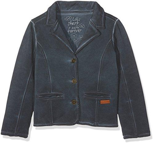 Boboli Boboli Mädchen Jacke Fleece Jacket for Girl, Grau (Slate 8079), 92