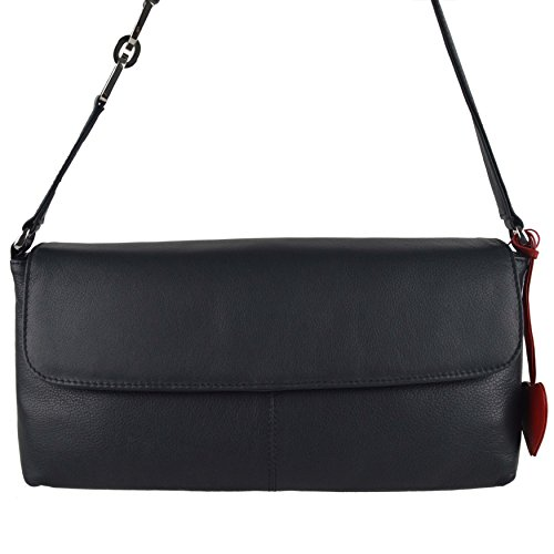 Mala Leather , Sac à main pour femme Rouge morado azul marino