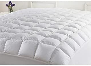 linenaffairs Polyester Pad Quilted Ultimate Mattress Protection Fitted Sheet Style, Queen Size (White)