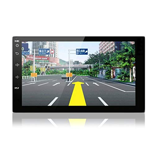 Matthew00Felix 7 Inch Car GPS Navigation 1080P HD Intelligent Auto Navigators Dvd-interconnect