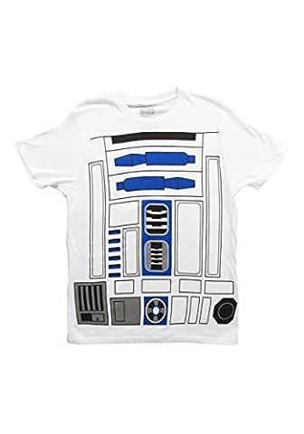 I am R2D2Herren Kostüm T-Shirt weiß (Gut Gegen Böse Kostüme)