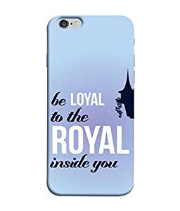 PrintVisa Designer Back Case Cover for Apple iPhone 6 (Loyal Royal Sky Light House )