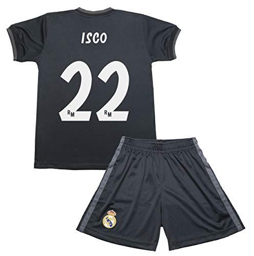 1175651ba6576 Kit Infantil Real Madrid Réplica Oficial - Isco - 2018-2019 - 2ª Equipación