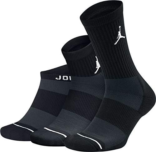 X WF 3PR Socks, Black, S ()