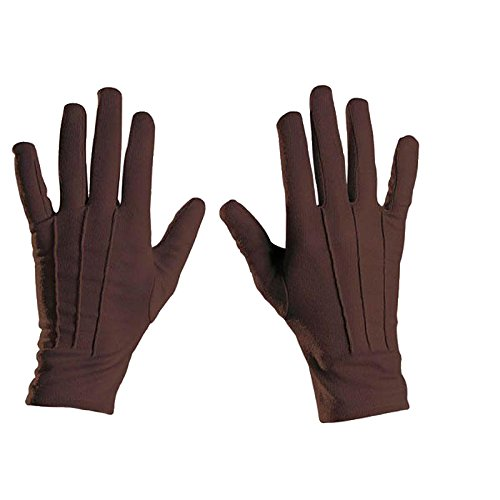 Gants Polyester 22cm - Marron