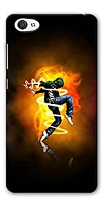 DigiPrints High Quality Printed Designer Soft Silicon Case Cover For Vivo X5 Pro