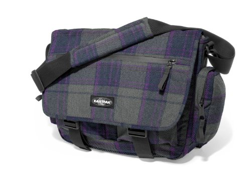 Eastpak Schultertasche Stanly, plum plaid, 21.5 liters, EK20472B (Umhängetasche Plaid)