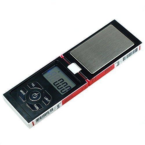 Trimming Shop Digitale Taschenwaage, leichte und professionelle multifunktionale Miniwaage, 200g x 0,01g, LCD-Display mit Hintergrundbeleuchtung