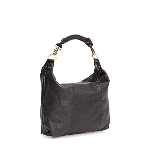 Fab by Fabienne - Fab milky way bag small + LH, Borsa da Donna Nero(shark attack black)
