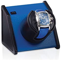Orbita Sparta 1 Single Watch Winder - Vibrant Blue