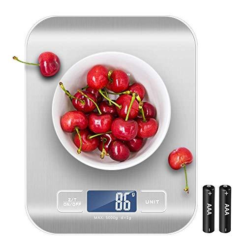 Newdora Báscula Digital para Cocina de Acero...