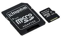 Kingston SDCS Micro SD Canvas Select Class 10 UHS-I Memory Card