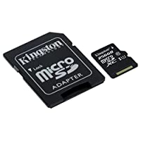 Kingston 256GB SDXC C10 UHS-I Canvas Select microSD Hafıza Kartı SDCS/256GB