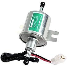 Senhai 2015 Nueva universal 12V 1.2A Heavy Duty eléctrico Plata Gas Combustible Diesel Pump metal Intank Sólidos Bombas de gasolina HEP-02A SET para Toyota / Ford / BMW / Honda / Mazda / Benz / Chery / Nissan.