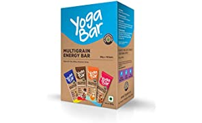 Yogabars Multigrain Energy Bars (Variety Box - Pack of 10)
