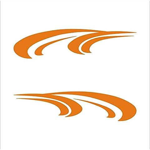 3109__O Pegatina para el coche ( Orange)