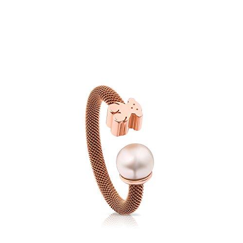 Tous anello donna acciaio_inossidabile - 613105520