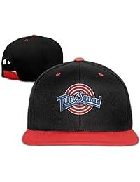 Nifdhkw Space Jam Tune Squad Logo Snapback Cappellino Hip Hop Rosso Nero (5  Colori 187cfd1f8fbd