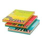 unirepro 049240–Pack von 200Blatt Multifunktionspapier A4, mehrfarbig
