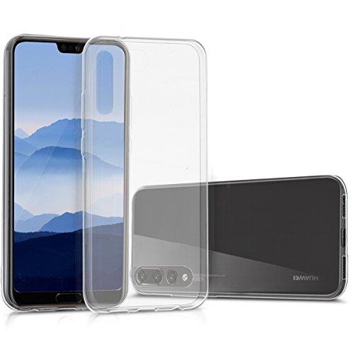 kwmobile Étui TPU silicone élégant et sobre pour Huawei P20 Pro en transparent
