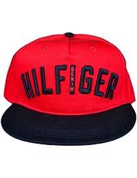 Casquette Tommy Hilfiger Logo rouge et marine pour homme
