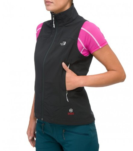 Damen Outdoor Jacke THE NORTH FACE Iodin Vest (Schwarze Damen North Face Weste)