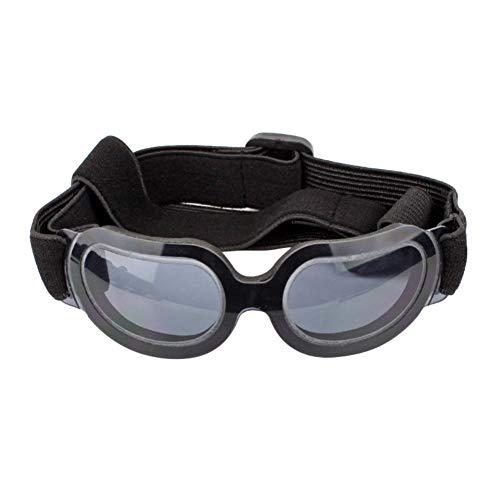 Handfly Gafas para Perros, pequeñas Gafas de Sol Medianas para Perros, protección UV a Prueba de Viento a Prueba de Viento para Doggy Puppy Cat