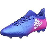 Adidas X 16.3 FG, Botas de fútbol Unisex niños