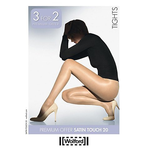 Wolford satin touch 20Collant 3per 2Promo Pack