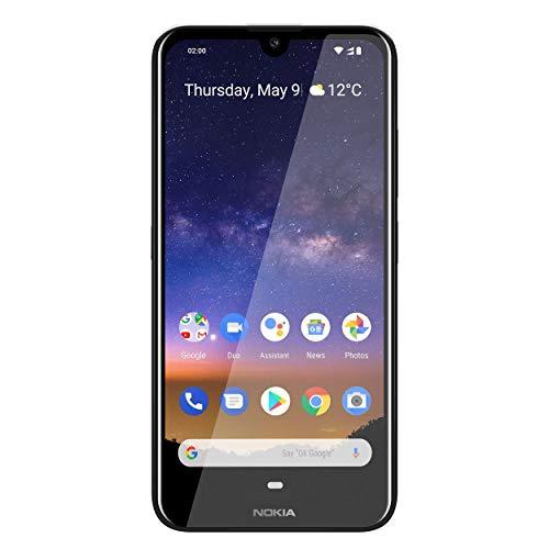 Nokia 2.2 Dual SIM Smartphone - Deutsche Ware (14,5 cm (5.71 Zoll), 13 MP Hauptkamera, 2GB RAM, 16 GB interner Speicher, Android 9 Pie) Steel Grey