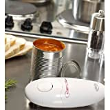 JML Automatic Hands-Free Can Opener - One Touch with Ergonomic Design, Safe