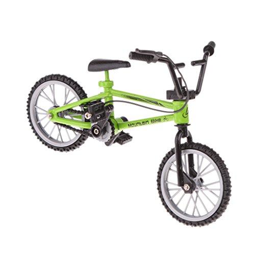 Gazechimp Finger Fahrrad Mini-Spielzeug Geschenk- Grün
